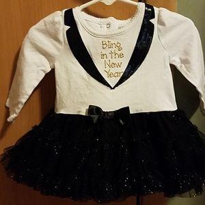 Baby New Year's dress